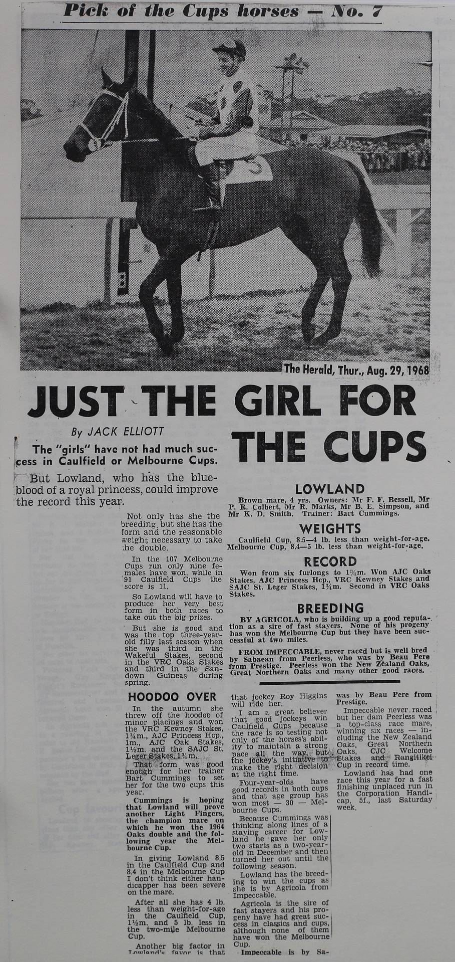 Just the girl for the cups